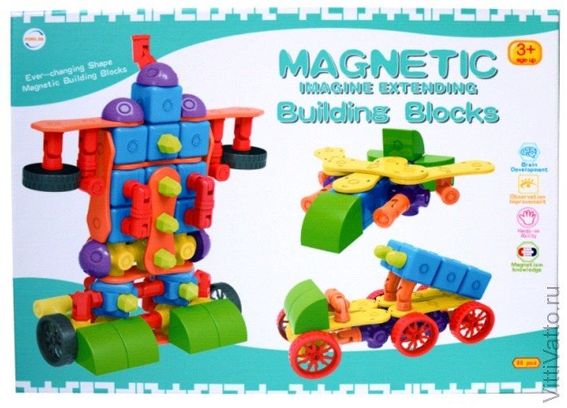 Магнитный конструктор magnetic blocks отзывы