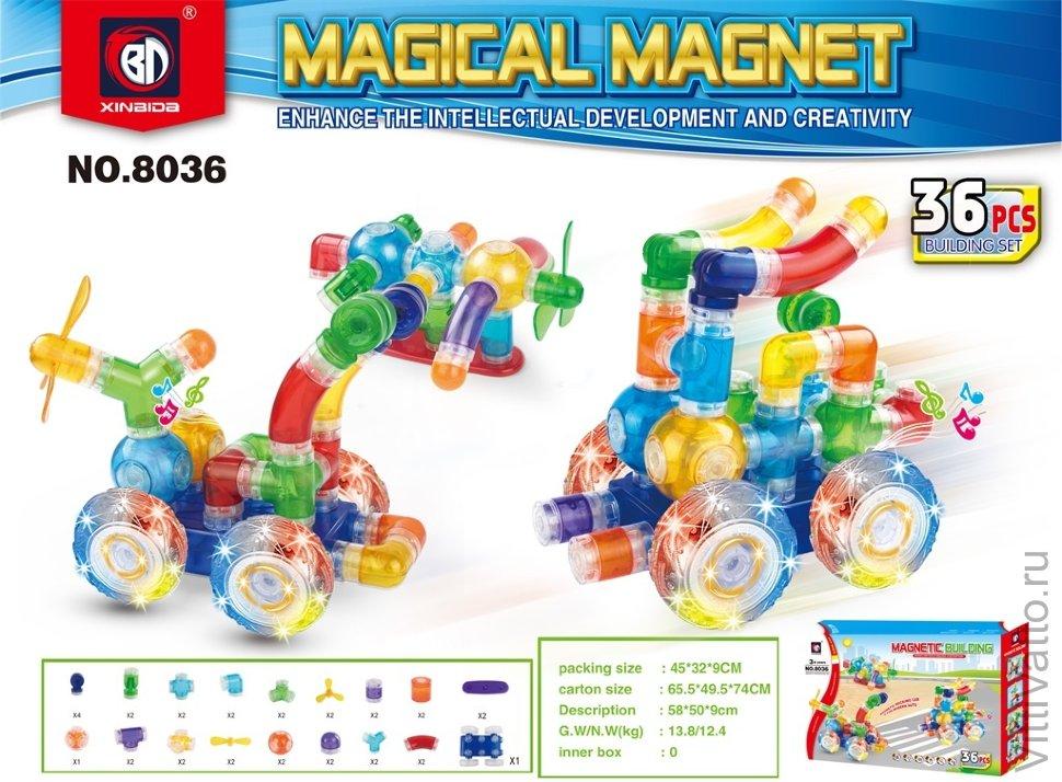 Магнитный конструктор magnetic blocks купить