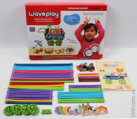 Набор конструктора Waveplay 50-B Toy set